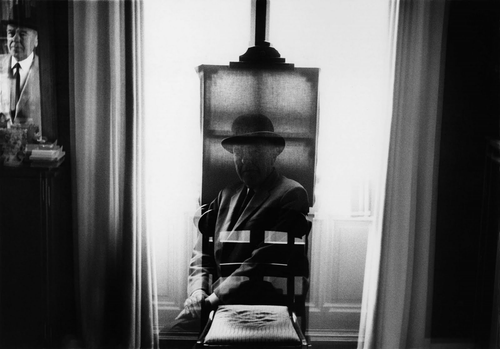 duane michals visit with magritte